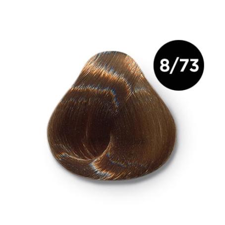 8 73 крем краска Ollin color 454x454 - Ollin Color 8.73 светло русый коричнево золотистый, 60 мл/100 мл. Перманентная крем краска для волос