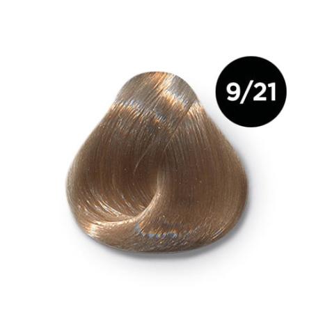 9 21 крем краска Ollin color 454x454 - Ollin Color 9.21 блондин фиолетово пепельный, 60 мл/100 мл. Перманентная крем краска для волос
