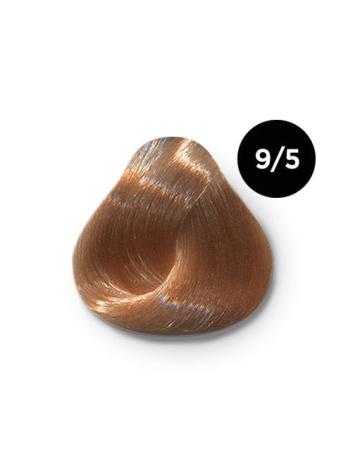 Ollin Color 9.5 блондин махагоновый, 60 мл/100 мл. Перманентная крем краска для волос