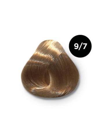 Ollin Color 9.7 блондин коричневый, 60 мл/100 мл. Перманентная крем краска для волос