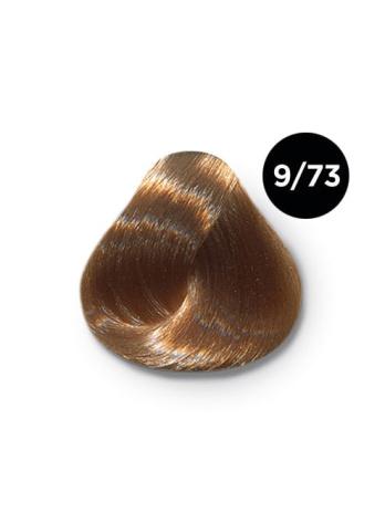 9 73 крем краска Ollin color 348x464 - Ollin Color 9.73 блондин коричнево золотистый, 60 мл/100 мл. Перманентная крем краска для волос