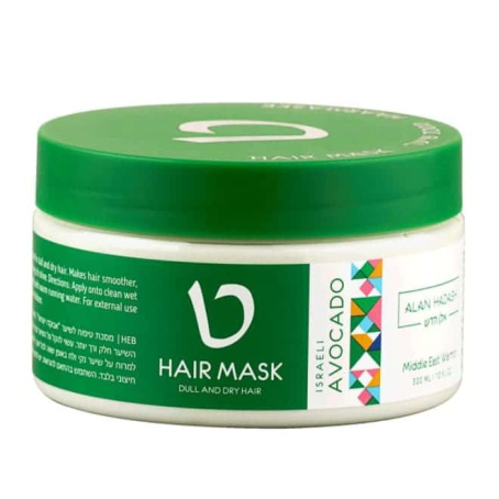 ALAN HASDASH МАСКА ИЗРАИЛЬСКИЙ АВОКАДО 454x454 - Маска для сухих волос Израильский Авокадо Alan Hadash, 300мл