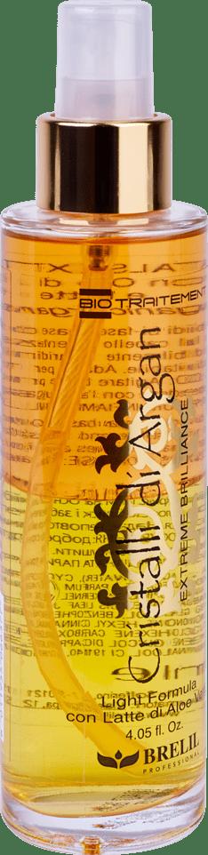 BIOTRAITEMENT Argan oil cristalli extreme brilliance lighte120 - Однофазное средство Кристаллы Аргании, 50 мл