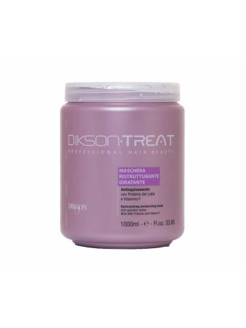 Восстанавливающая увлажняющая маска для волос с витамином F (DIKSON RESTRUCTURING MOISTURIZING MASK), 1000мл