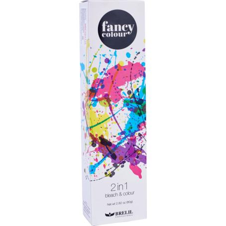 Обесцвечивающее средство и крем краска 2 в 1 FANCY COLOUR, 80 гр коробка