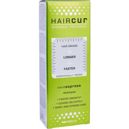 HAIRCUR hairexpress shampoo коробка 454x454.png - Лосьон против выпадения волос со стволовыми клетками HAIR CUR, 10х6 мл/ 40х6 мл
