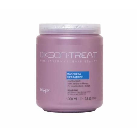 Маска для ослабленных и химически обработанных волос с растительным кератином Dikson Mask repair