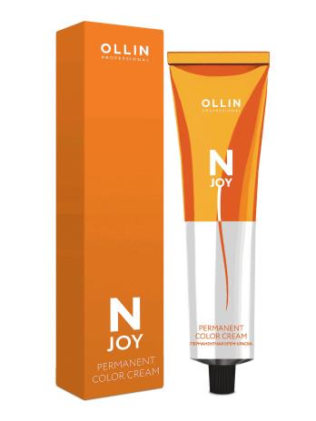 Перманентная крем краска Ollin N-JOY, 10.32 светлый блондин золотисто фиолетовый, 100 мл