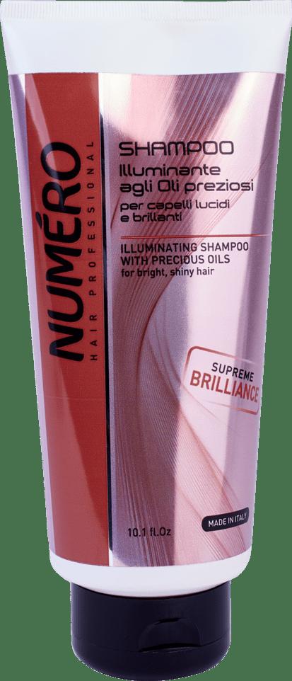 NUMERO Illuminaiting shampoo300 - Шампунь для защиты цвета NUMЕRO COLOUR, 300 мл/1000 мл - 300 мл