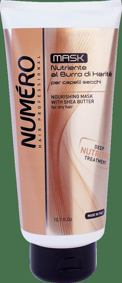 NUMERO Karite mask300 - Маска для ослабленных и чувствительных волос NUMЕRO RESTRUCTURING, 300мл/1000 мл