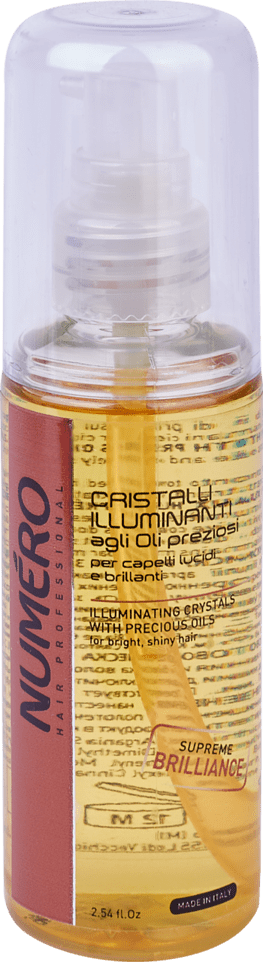 NUMERO krystals Illuminating75 - Жидкие кристаллы для блестящих волос NUMЕRO ILLUMINATING, 75 мл