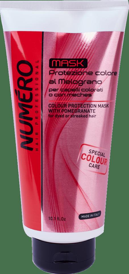 NUMERO mask color300 - Маска для защиты цвета NUMЕRO COLOUR, 300 мл/1000 мл
