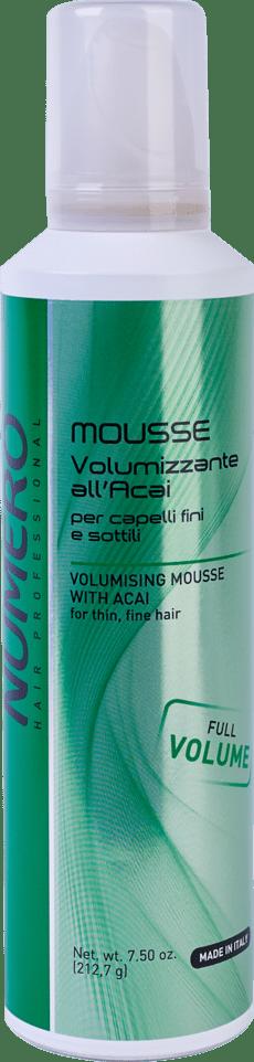 NUMERO mousse volume250 - Маска для придания объема NUMЕRO VOLUME, 300мл/1000 мл