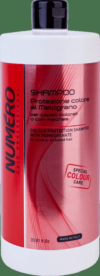 NUMERO shampoo Colour1000 - Шампунь для защиты цвета NUMЕRO COLOUR, 300 мл/1000 мл - 1000 мл