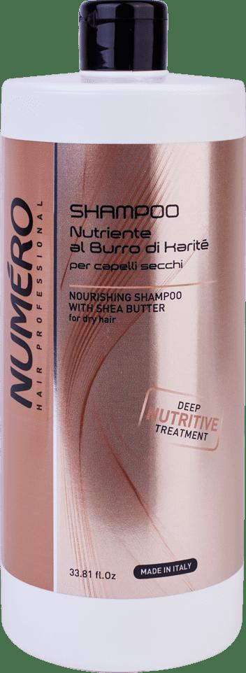NUMERO shampoo Karite1000 - Шампунь для сухих волос NUMЕRO SHEA BUTTE, 300 мл/1000 мл/ 10 000 мл