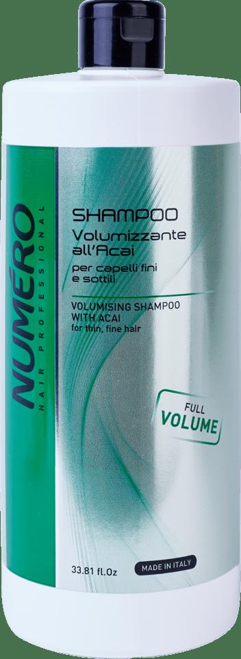 Шампунь для придания объема NUMЕRO VOLUME, 300 мл/1000 мл