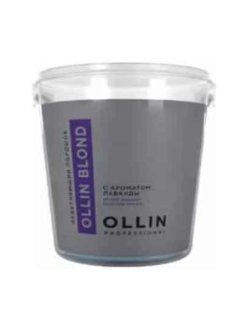 Осветляющий порошок OLLIN BLOND  с ароматом лаванды, 30/500 гр