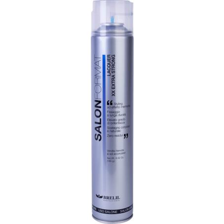 SALON FORMAT Lacquer extra strong 454x454.png - Профессиональный лак для волос сильной фиксации SF Brelil, 500 мл