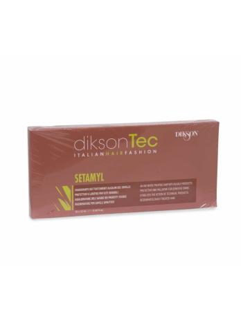 Setamyl ампульное средство для защиты волос от Dikson, 12 х 12 мл
