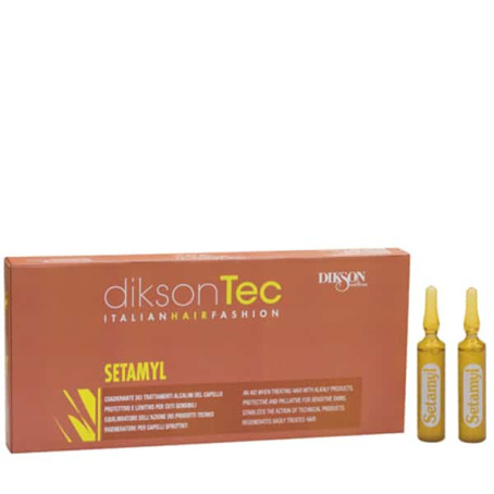 Setamyl 454x454 - Setamyl ампульное средство для защиты волос от Dikson, 12 х 12 мл