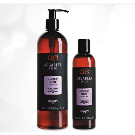 Шампунь для окрашенных волос с маслами Argabeta color Shampoo shine