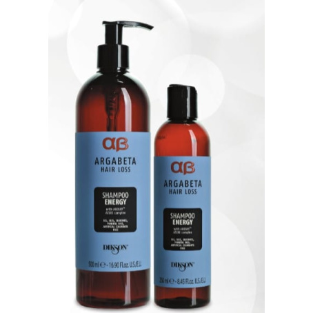 Шампунь против выпадения и для активизации роста волос Argabeta Shampoo Energy hair loss, 250/500мл